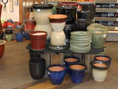 Glazed Clay Pottery