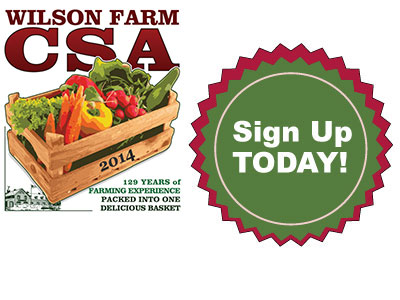 Sign Up for CSA